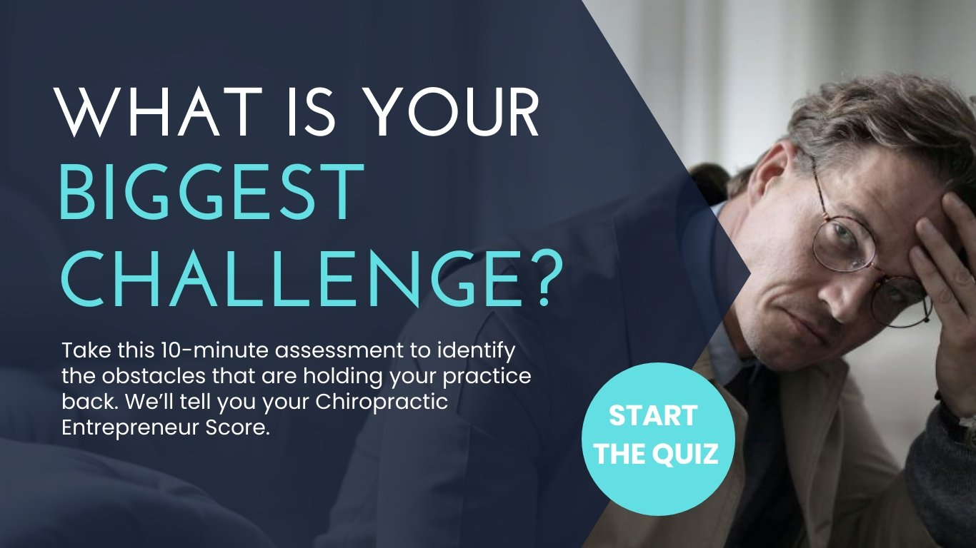Chiropractic Assessment PopUp