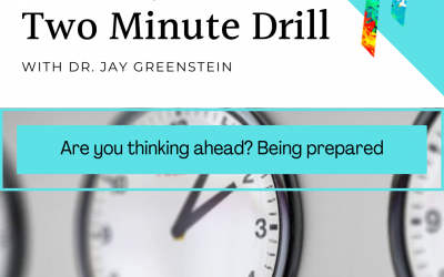 TMD: Are you thinking ahead? Be prepared