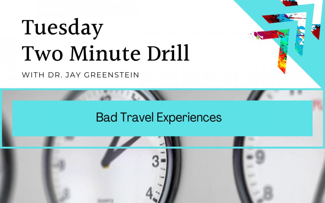 TMD: Bad Travel Experiences