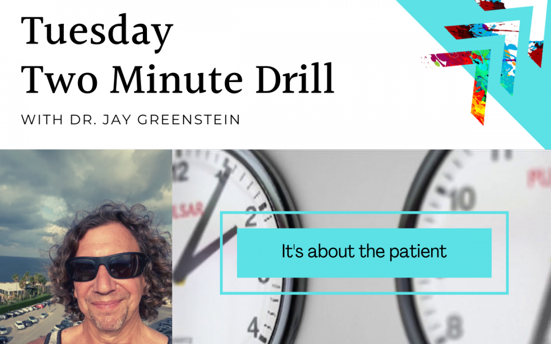 TMD: It's about the patient